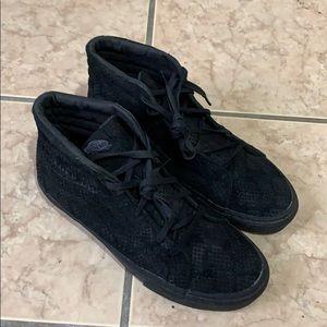 Vans SK8-Hi Suede/Snake Pattern (Black)